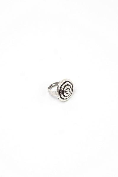 Кольцо спираль маленькая