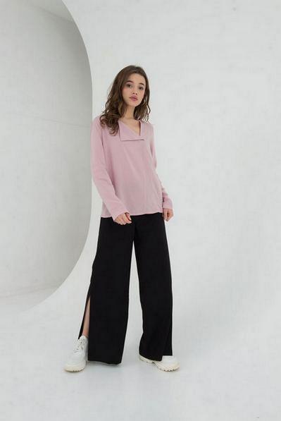 Блуза прямая штапель на фрезовом