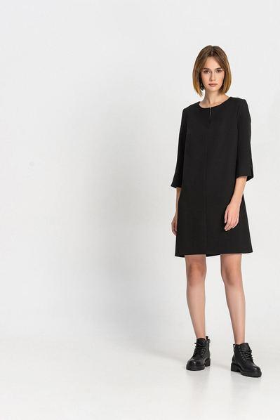 Чорна сукня дзвіночок з розрізом b971096c5a9c0