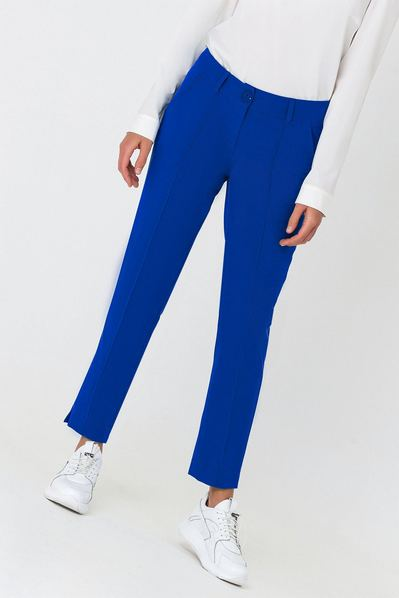 Классические брюки со стрелкой электрик