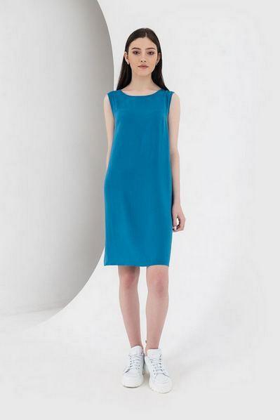 Штапельное платье майка ниагара
