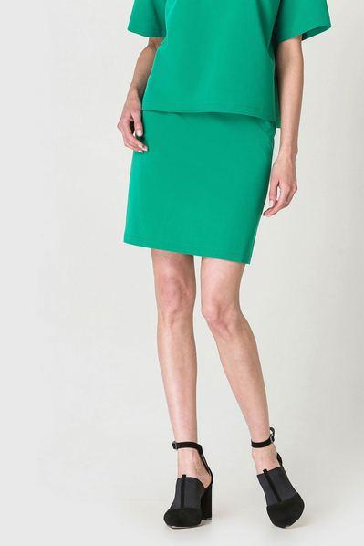 Короткая юбка травяная